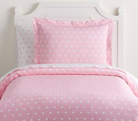 Organic Heart Duvet Cover