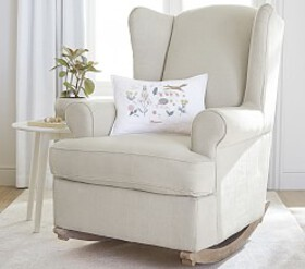 Wingback Convertible Rocker & Ottoman