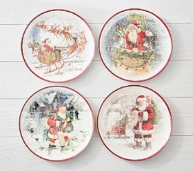 Classic Holiday Plates