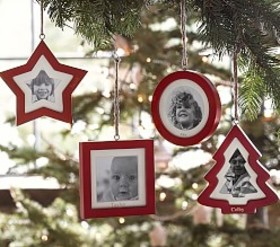 Red Frame Ornaments