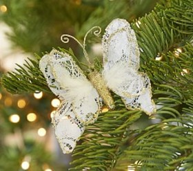 Monique Lhuillier Clip-on Butterfly Ornament