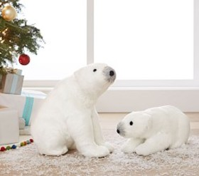 Sisal Polar Bear Decor