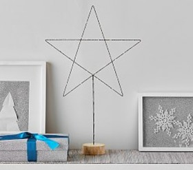 Wire Light Up Stars