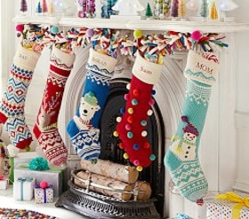 Merry & Bright Stockings