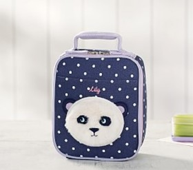 Classic Critter Panda Lunch Bag
