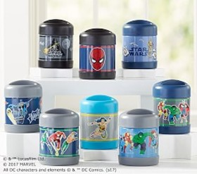 Heroes & Villains Hot & Cold Containers