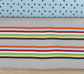 Camden Stripe Crib Skirt