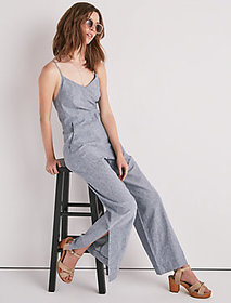 Easy Stripe Jumpsuit