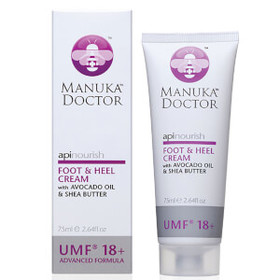 Manuka Doctor ApiNourish Foot & Heel Cream 75ml