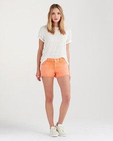 Cut Off Short in Creamsicle