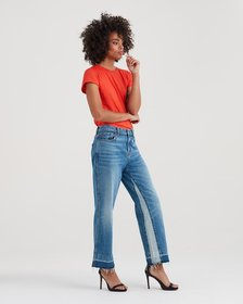 Kiki with Inset and Trouser Released Hem in Desert