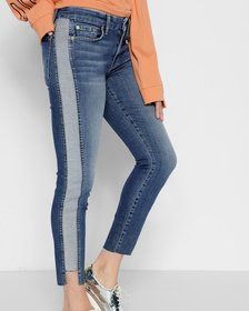 Ankle Skinny with Reverse Step Side Panel in Mojav