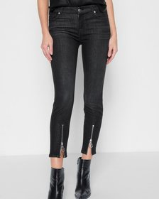 B(air) Denim Roxanne Ankle with Front Zipper in No