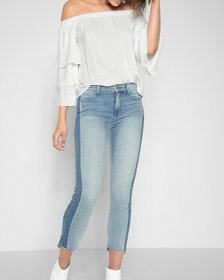 Roxanne Ankle with Side Shadow Seam and Step Hem i