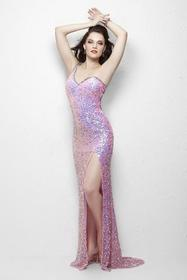Primavera Couture - 1122 Sequined Sheath Dress