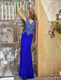 Nina Canacci - 8042 Dress in Royal