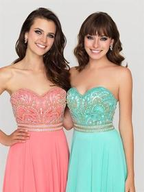 Madison James - 16-364 Dress in Coral