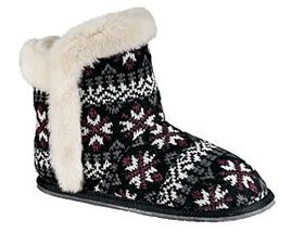 Natural Reflections® Women's Fair Isle Knit Bootie