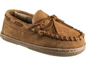 Outdoor Kids Youth Suede Moccasins