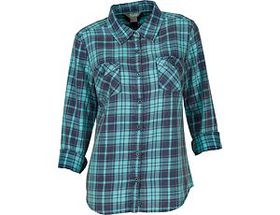 Natural Reflections® Women's Acid-Washed Plaid Shi