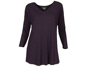Natural Reflections® Women's Waffle V-Neck Tunic