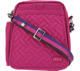 Lug RFID Convertible Crossbody Bag w/ Bonus Strap