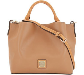 Dooney & Bourke Smooth Leather Small Brenna Satche