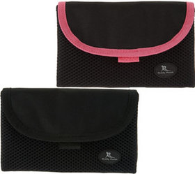 """""""As Is"""" Set of 2 On the Go Belt Free Pouches w/ RF"""