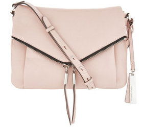 """""""As Is"""" Vince Camuto Leather Crossbody Bag- Alder"""
