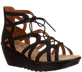 Skechers Lace-Up Wedges - Terrace - A304810