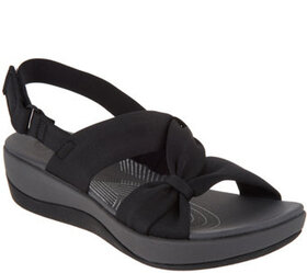 """""""As Is"""" CLOUDSTEPPERS by Clarks Sport Sandals- Arl"""