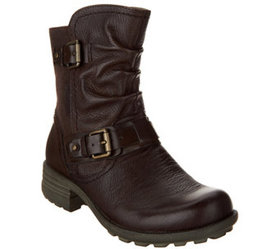 Earth Origins Leather Mid Boots - Patrice - A34457