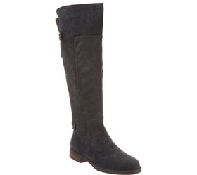 Franco Sarto Suede or Leather Tall Shaft Boots - C