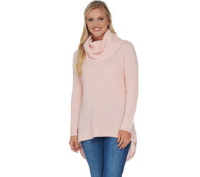 """""""As Is"""" Isaac Mizrahi Live! 2-Ply Cashmere Cowl Ne"""