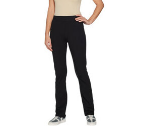 LOGO by Lori Goldstein Regular Pull-On Pants with