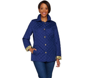 C. Wonder Water Resistant Quilted Barn Jacket with