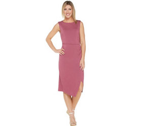 """As Is"" Lisa Rinna Collection Side Ruched Mini Dre"