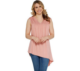 """As Is"" Lisa Rinna Collection Shirred Front Detail"