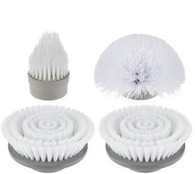 4 Piece Power Scrubber Replacement Scrubber Brush