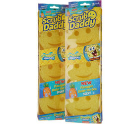 Scrub Daddy Set of 6 SpongeBob Pineapple Scented S