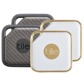 Tile Pro Series Item Trackers 4-Pack, Sport & Styl