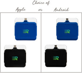 Rush Charge Set of 2 2000 mAh Portable Chargers -