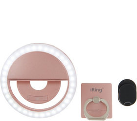 Picture Perfect Selfie Set w/ iRing Phone Stand &