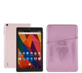 """NuVision 8"""" HD Android 16GB QuadCore Tablet w/ Lea"""