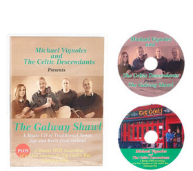 """The Celtic Descendants """"The Galway Shawl"""" CD and D"""