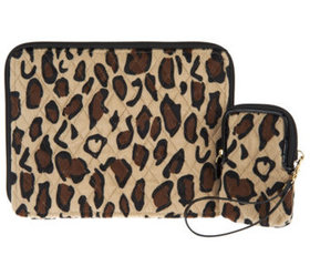 Dennis Basso Faux Fur Tablet and Cell Phone Case -