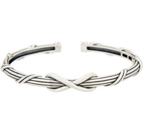 Peter Thomas Roth Sterling Silver Infinity Cuff -