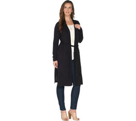 Lisa Rinna Collection Belted Notch Collar Jacket -