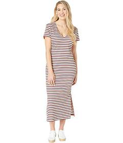 Juicy Couture Multicolor Stripe Dress