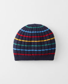 Hanna Andersson Reversible Striped Beanie